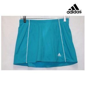 adidas Gal Tennis Skort Skirt Sz S Turquoise Blue